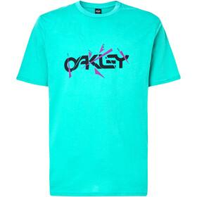 Oakley Broken Shards B1B Maglietta Uomo, verde